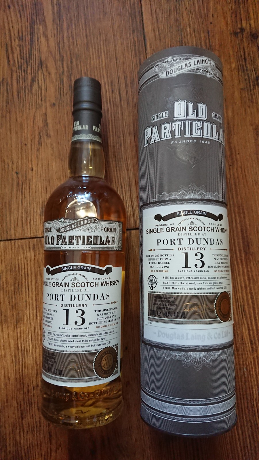 PORT DUNDAS Single Grain 13 YR