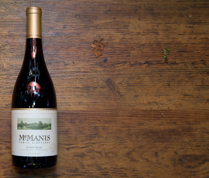 McManis Family Vineyards PINOT NOIR